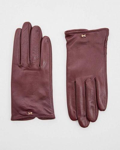 Кожаные перчатки бирюзовый Ted Baker London