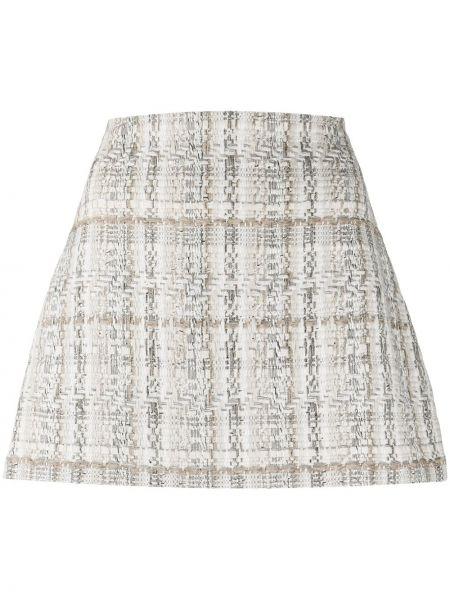 Акриловая вязаная юбка на молнии Alice+olivia