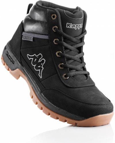 Ботинки на шнуровке спортивные черные Bonprix