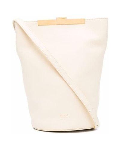 Beżowa torebka Khaite