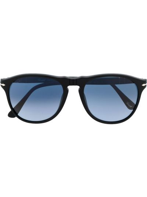 Солнцезащитные очки прямоугольные хаки Persol