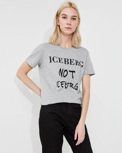 Серая футболка Iceberg