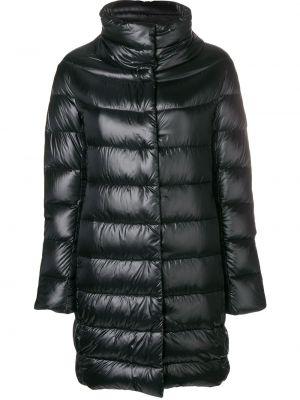 Куртка черная с карманами Herno