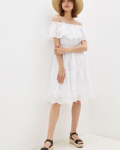 Белое платье летнее Lusio