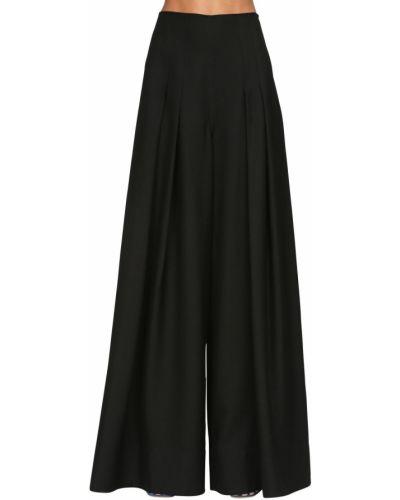 Czarne spodnie z wysokim stanem Jacquemus