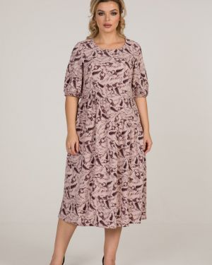 Платье в стиле бохо со складками марита