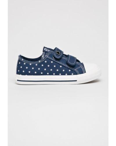 Кеды текстильные синие Big Star