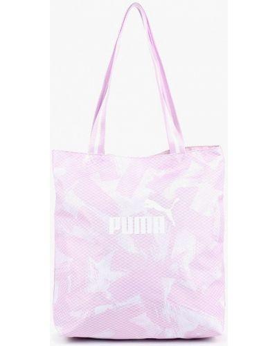 Розовая сумка с ручками Puma