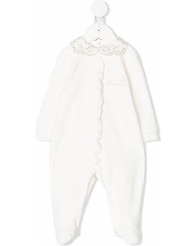 Пижама белая с вышивкой Miss Blumarine