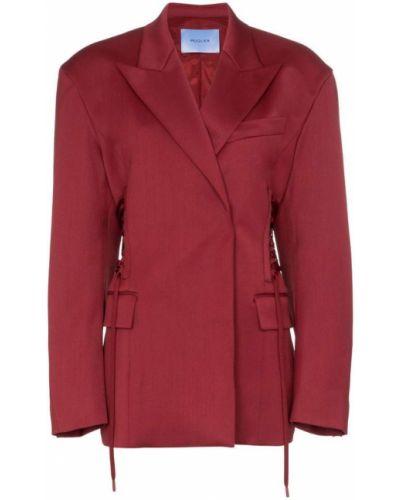 Удлиненный пиджак Mugler