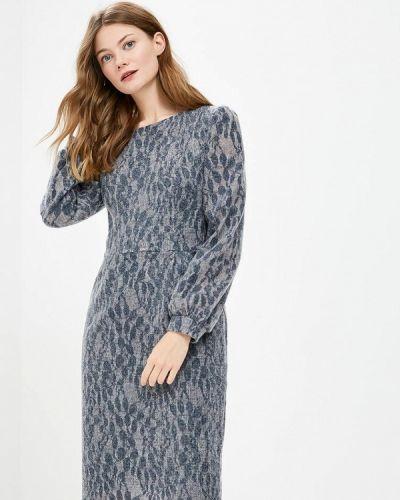 Платье осеннее синее Vemina City Lisa Romanyk