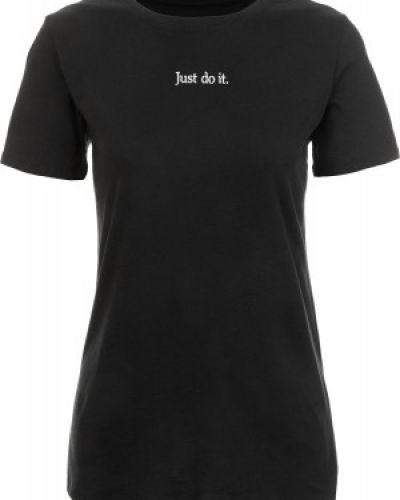 Спортивная футболка прямая хлопковая Nike