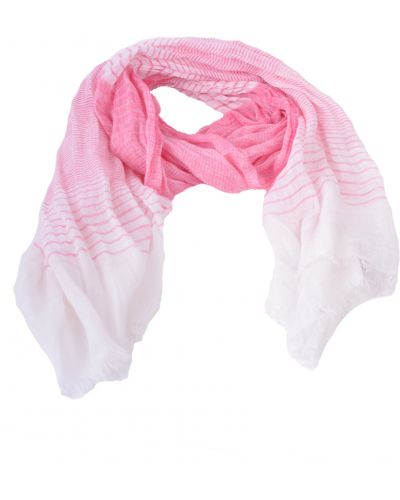 Розовый шарф весенний Armani Collezioni
