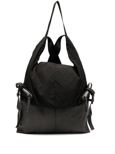 Черная сумка на молнии с пряжкой Premiata