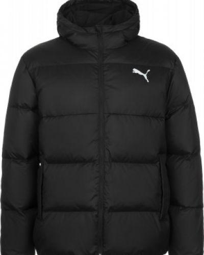 Черная куртка на молнии с капюшоном Puma
