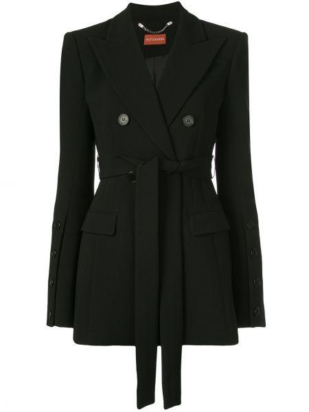 Куртка черная с карманами Altuzarra