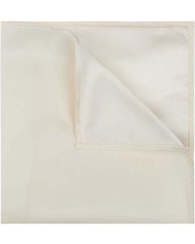 Jedwab biały chusteczka Monti
