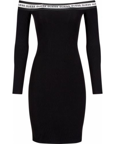 Платье из полиэстера - черное Guess