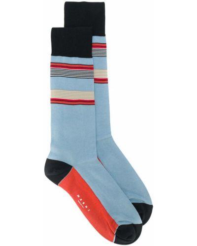 Синие носки Marni