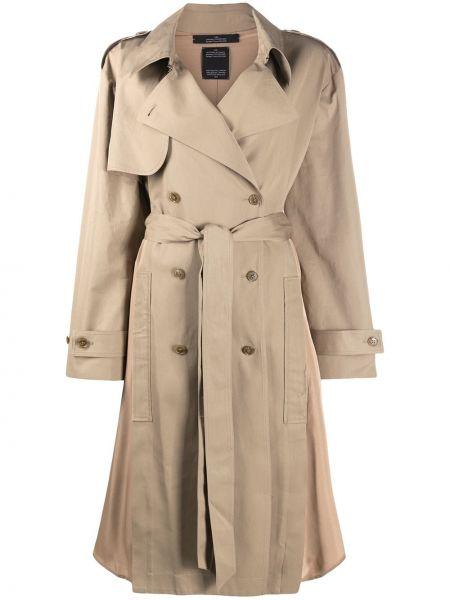 Длинное пальто с карманами на пуговицах с лацканами Y/project