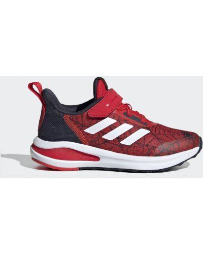 Красные кроссовки беговые для бега Adidas