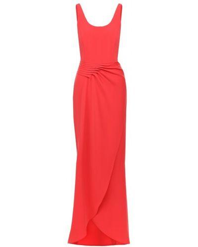 Платье макси с поясом на молнии Emporio Armani