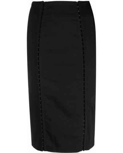 Czarna spódnica ołówkowa Murmur