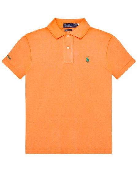 Pomarańczowe polo Polo Ralph Lauren