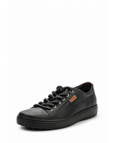 Кожаные ботинки из нубука Ecco