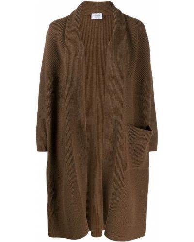 Длинное пальто с капюшоном Salvatore Ferragamo