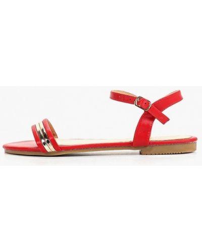 Сандалии красные Style Shoes