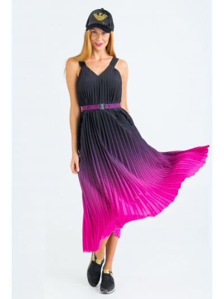 Повседневное платье-рубашка для офиса Armani Exchange