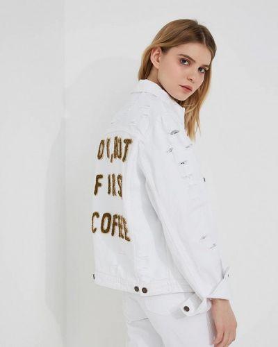 Джинсовая куртка весенняя Forte Couture