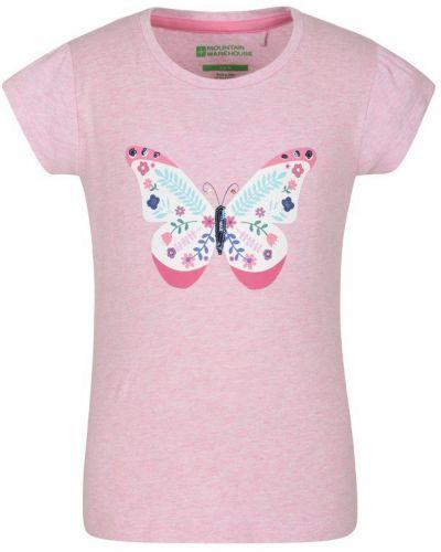 Fioletowy t-shirt z printem Mountain Warehouse