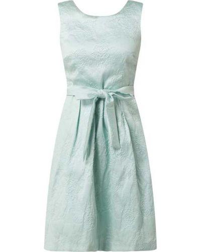 Zielona sukienka koktajlowa bez rękawów Apart Glamour