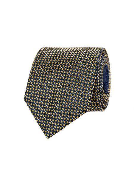 Jedwab żółty krawat Christian Berg Men
