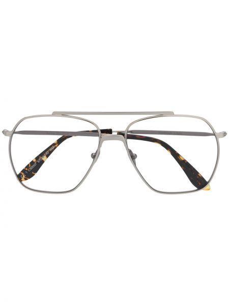 Okulary srebrne Acne Studios