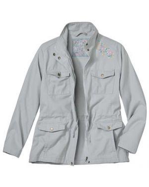 Куртка с вышивкой на молнии Atlas For Men