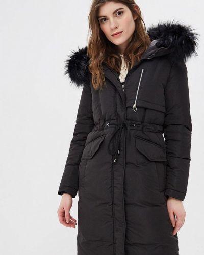 Утепленная куртка - черная Rosso-style