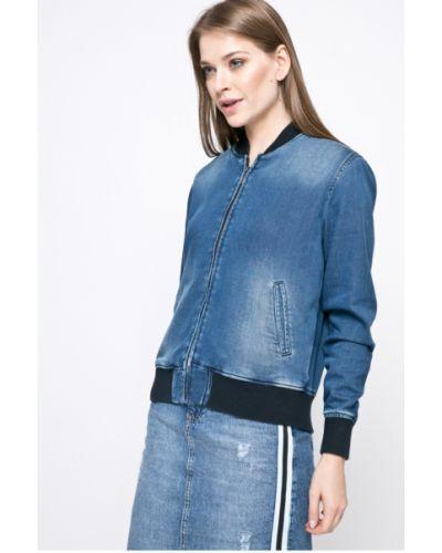 Джинсовая куртка на резинке прямая облегченная Pepe Jeans