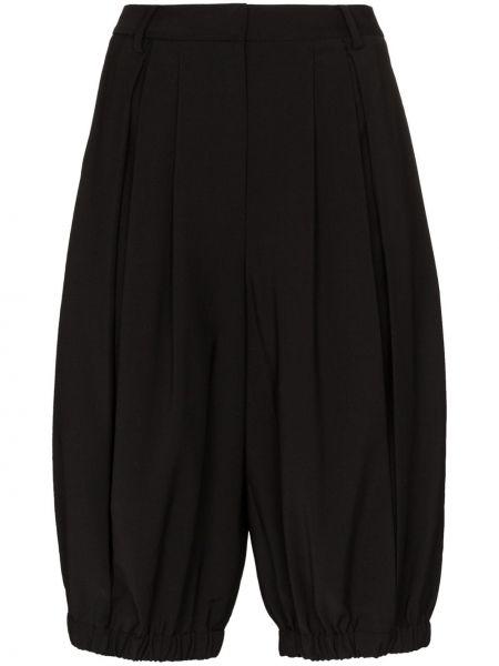 Черные шорты Tibi