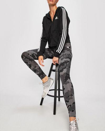 Кофта с карманами на резинке Adidas Performance