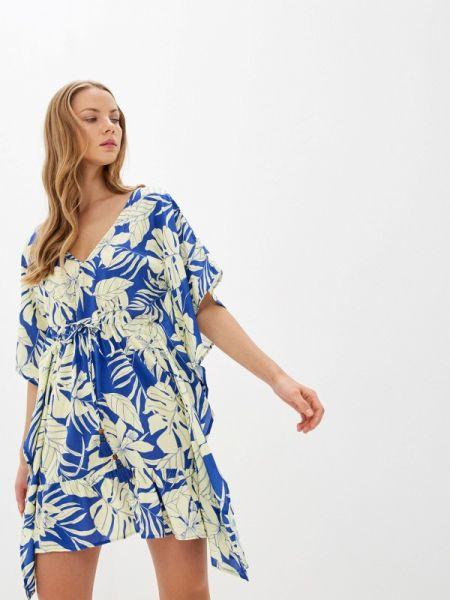 Пляжное платье синее весеннее Maaji