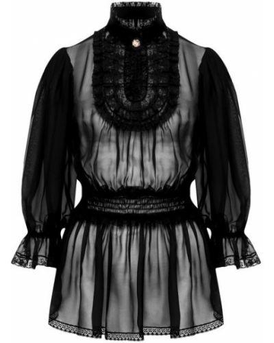 Блузка кружевная прозрачная Dolce & Gabbana