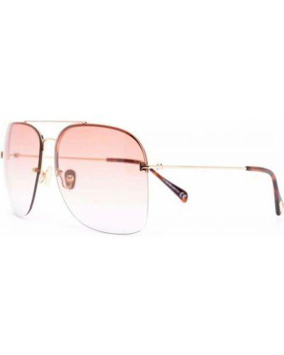 Różowe okulary Tom Ford