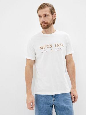 Белая футболка осенняя Mexx