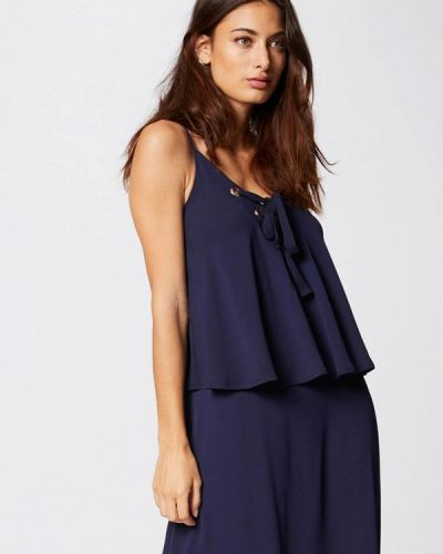 Платье - синее Morgan