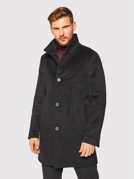 Płaszcz wełniany Oscar Jacobson