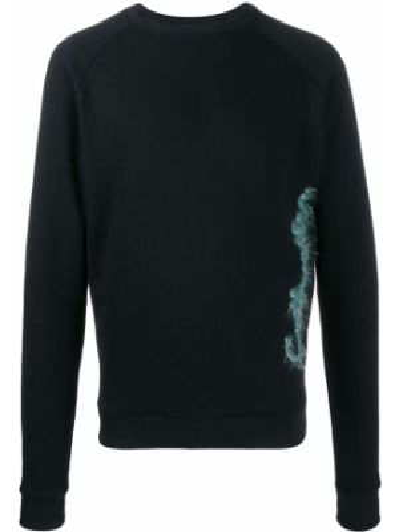 Czarna bluza z haftem bawełniana Cottweiler