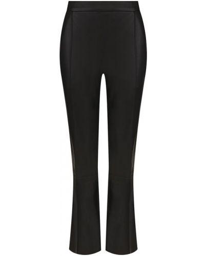 Укороченные брюки кожаные с карманами Drome